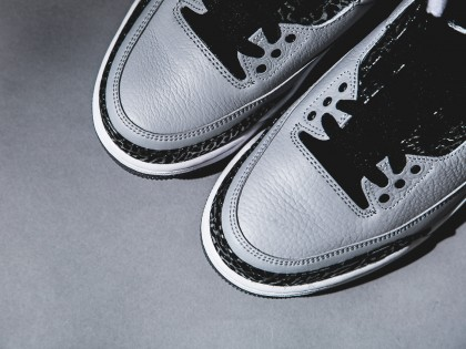 "Fashion | Air Jordan 3 ""Wolf Grey"" Releasing 19.07.14"